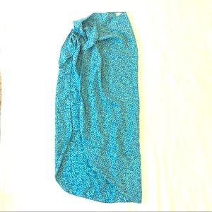 Victoria Secret Silk Sarong Tie Bathing Suit Cover